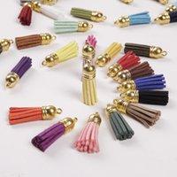 Mini Tassels 1.5 inch Microfiber Velvet Tassel Kit for Keychain Charms Earring Necklace Jewelry Making Garland DIY Crafts