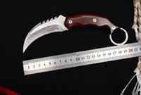 Jiguan Claw Karambit Damascus VG10 Blade Push Knife Outdoor Hunting Jungle Self defense Combat Survival Knives Ludt Doc CQC7 Infidel Mafia UT85 UT88 UT121 AD15 AD10