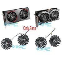 Fans & Coolings Original For MSI RX5500XT GAMING 5500XT MECH PLD09210S12HH Graphics Video Card Cooling Fan