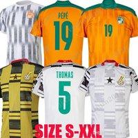 2021 2022 Ghana Costa Avorio Calciatore di calcio 21 22 Drogba Thomas Ayew Seko Fofana Nicolas Pepe Kessie Serge Aurier National Team Football Uniform