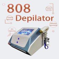 2022 808nm diode laser hair removal skin rejuvenation beauty equipment 760nm,805nm,1066nm triple waves IPL painless 808 machine