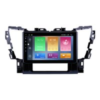Car Dvd Gps Navigation Multimedia Player Am Fm with Bluetoothfor Toyota Alphard 2015 2016 Support Steer Wheel Control Carplay 10 Inch Stereo