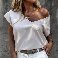 Top Clothing Women's Short Sleeve T Shirt Women Solid T-shirt Female V Neck Tee Casual Tshirt 2021 Summer Woman T-shirts