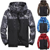Camouflage jacket, men's coat, tooling, hooded and color matched New Youth 8805X57D{category}