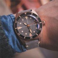 腕時計Proxima 2021メンズブロンズダイバーウォッチラグジュアリーNH35自動時計メカニカル200メートル200M耐水性スポーツ腕時計セラミックビーズ