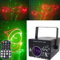 Laser Lighting Led 3D Dmx 512 Stage Colorful Projector Line Animation Projection Lamp Bar Family Ktv Flash Buddy Beam Music Equipment Dance Floor