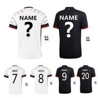 تي شيرت للرجال ألمانيا National Team 2021 جيرسي 20 21 الصفحة الرئيسية Hummels Kroxr Draxr Reus Muler