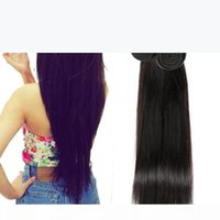 On Sale Unprocessed Virgin Human Hair Weaves Natural Black Straight Dhgate Vendor Best Selling Items Malaysian Indian Peruvian Cambodian
