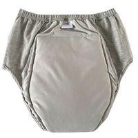 Adult Tissu Couches Homme Femme Peut laver l'urine de personnes âgées Ne pas mouillé Pantalon de couches incontinence Couche de coton étanche 50-220ml 210426