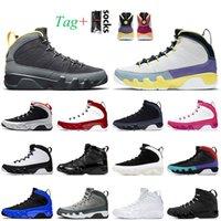 Nike Air Jordan 9 9s Jordan Retro 9 Mens Jumpman 9 9S 농구 신발 대학교 금 레트로 변화 세계 체육관 빨간 오레곤 오리 실버 반짝이 스포츠 트레이너 운동화 크기 7-13
