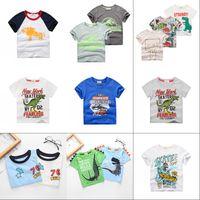 Inpepnow Kinder T-Shirt für Junge 2020 Tierdruck Dinosaurier Jungen T-Shirt für Mädchen Tops Cartoon Kinder T-Shirt Kleidung 5-14 Jahre 1163 y2