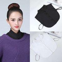 False Half Shirt Women's All-Match Detachable Lapel Fake Fashion Solid Blouse Collar For Girl Removable Blouses & Shirts