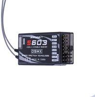Akıllı Ev Kontrolü 10 ADET S603 Alıcı Ultra Uzun Mesafe DSM2 DSMX 6-Way Ar6210 Alternatif Tek PPM Çıkışı