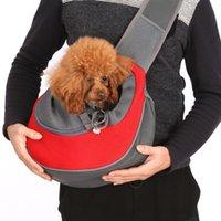 منازل حقيبة الحيوانات الأليفة القط والكلب السفر المحمولة straddle واحدة الكتف تنفس شبكة لوازم