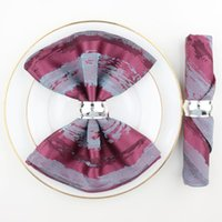 Tabela Guardanapo 6 Pcs Fancy Harting Personalizado Algodão Serviette para Restaurante El Cozinha Decoração Fabuloso Jacquard Weave
