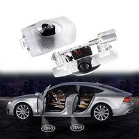 자동차 도어 로고 LED 라이트 호의 레이저 프로젝터 Prado Corolla Highlander Previa Alphard Sienna Interiorexternal에 대한 패션 트림 액세서리