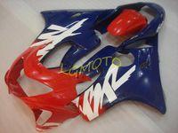 HONDA CBR600F4 CBR600 F4 1999-2000 Verkortingen Kits Injectie Motorfiets Onderdelen Cowling CBR 600F4 1999 2000 99-00 Bodykits Carrosserie # U273T Blauw Rood