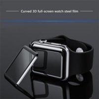 ل Apple Watch 6 SE 40MM 44MM فيلم 3D كامل منحنى الزجاج المقسى شاشة الزجاج حامي التغطية iwatch سلسلة 5 2 3 38 ملليمتر 42 ملليمتر