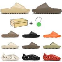 slide kanye west pantofole a buon mercato scivolo per le donne degli uomini Bone Desert Sand Terra Brown resina espansa corridore Ararat mens sandali esterni