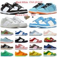 새로운 실행 신발 남자 여자 하나 개 (1 개) 낮은 높은 화이트 오렌지 밀 남성 트레이너 스케이트 보드 스포츠 운동화 신발 36-45