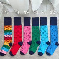 Mode männer frauen sport socken klassische druck mehrer farbe stocking skateboard hip hop casual socke