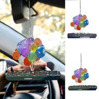Car Creative Ornaments Boat Balloon Pendant Decoration Keychain Accessories Interior W8O2 Decorations