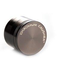 금속 허브 그라인더 크롬 분쇄기 아연 합금 50mm 4layer Muilty 색상으로 마른 허브 용 강력한 분쇄기