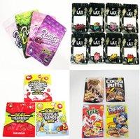 Wholesale 500mg Runtz Gummies LAX Trix edible packaging bags pink orginal ether white Runt mylar bag 4 types runtg plastic zipper package baggies