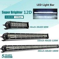 TRERJO Super jasny LED Light Bar 6D 8-20inch Offroad Combo LED Bar dla Lada Truck 4x4 SUV ATV NIVA 12V 24 V Auto jazdy samochodem