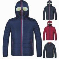 Arrived Winter With Glasses Jackets Men Hooded Padded Mens Warm Windproof Quilted Jacket Male Coats And Women Homme Men's Down & Parkas