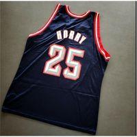21s 007Custom homens juventude mulheres vintage robert horry campeão vintage colégio basquete jersey tamanho s-6xl ou personalizado qualquer nome ou número jersey