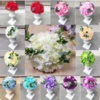 À 40 cm artificielle rose hydrologie de rose embrasser roule de mariage cité fleur romaine colonne bouquet t décoration décoration fleurs décoratives