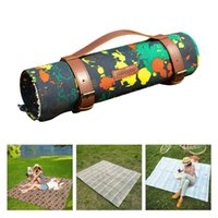 Outdoor Pads 5-8People Travel Mat Thickened Folding Portable Camping Picnic Blanket Park Grass Soft Moisture-proof Beach Sleeping Pad