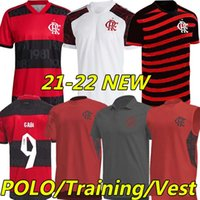 Flamengo Soccer Jerseys 2021 2022 Diego E.Ribeiro Gabriel B. Gabi Fotboll Jersey Pedro Matheuzinho de Arrascaeta Camisa Mengo 21/22 Män Kids Kit Training Polo Vest