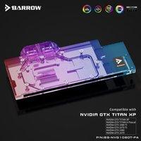 Bloque de video de enfriamiento de agua de la PC del refrigerador de la GPU de Barrow para GTX 1080TI / 1080 / 1070TI / 1070 / TITAN X LRC2.0 BS-NVG1080T-PA Fans Refriolos