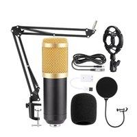 BM 800 Karaoke Mikrofon BM800 Stüdyo Kondenser Mikrofon Mic için BM-800 KTV Radyo Braodcasting Singing Kayıt Bilgisayar