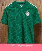 Argélie Jersey Jersey 2021 Home Away Mahrez Bouncerjah Feghouli Bennacer Atal Argélia Camisa de Futebol
