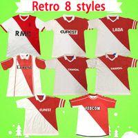 Versão retro AS Camisa de futebol do Mônaco 1977 1982 1990 1991 1992 1994 1995 1996 1997 1999 1999 clássico Home BEN YEDDER JOVETIC GOLOVIN JORGE camisa de futebol vintage