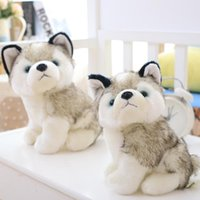 Funny husky dog plush toys stuffed cute black and white animals hobbies 18cm Plus Red Bottoms