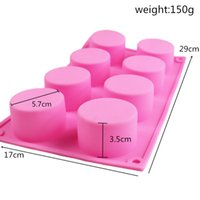 PUDDING SILICONE PUDDING PAIN BISCUIT MOULE DE MOULE DE MOULE À PAYS PÂTISSERS PAYS PÂTISSER PASSERIE JONLY GUME SOAP MINI MUFFIN MOUSSE Mousse Decoration Outils 2042 V2