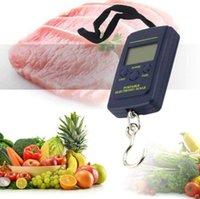 Haushaltskalen 40kg x 10g Mini digital für Angelgepäck Reisegewichtung steelyard hängend elektronische haken waage küche gewicht werkzeug fonm