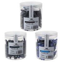 Fountain Pens 100pcs Jinhao Universal Black Blue Pen Ink Sac Cartridges 2.6mm Refills School Office Stationery H7EC XGJH