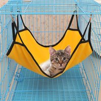 Cat Beds & Furniture Hanging Hammock Pet Supplies Sleeping Bag Cage Breathable Double-sided Available Comfortable Bed Mat