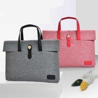 Simple Handbag Designer Women 14 Inch Laptop Briefcase Business Handbag For Men Large Capacity Messenger Shoulder Bag 211011