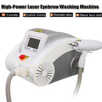 Multifunktions-Tattoo-Entfernungsmaschinen Augenbraue-Wäsche Sommersprossen BirthMarch Black Face Puppe Lip Line Laser Beauty Equipment