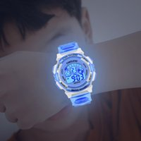 Tasarımcı İzle Marka Saatler Lüks İzle Rwul Flash Dijital Su Geçirmez Alarm Erkek Kız Tarih Haftası Yaratıcı Çocuk Moda Saati