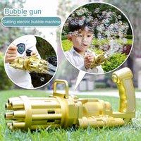 2021 DHL Bath Gum Plastic Machine Gun Toy Boy Kid Bubbles for Kids Toys Wholesale