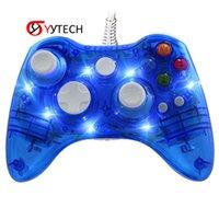 Syitech Gamepad Joystick Controlador con cable para Xbox 360 Accessories juego