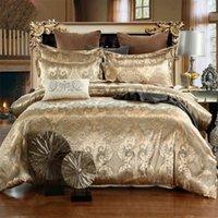 디자이너 침대 이불 세트 럭셔리 3pcs 홈 침대 세트 자카드 이불 침대 시트 트윈 싱글 퀸 킹 사이즈 침대 세트 침구 473 V2