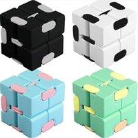 마술 무한 큐브 스트레스 릴리프 인피니티 완구 손가락 재미있는 감각적 인 플립 퍼즐 무한 동물 ADHD 무한 큐브 불안 릴리버 키즈 장난감 H41kcvy